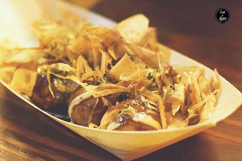 Takoyaki - Izakaya Hattori Hanzo Madrid - restaurante japonés