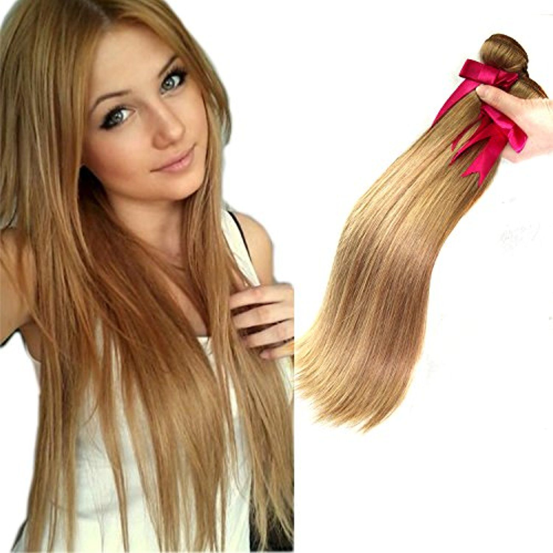 Violet Beauty Brazilian Virgin Human Hair Honey Blonde Hair