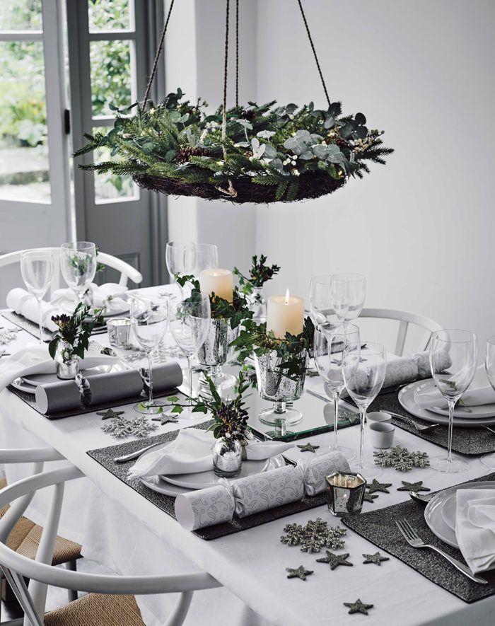 11 stilrena dukningar till vinterns fester | Table settings Christmas table settings and Xmas & 11 stilrena dukningar till vinterns fester | Table settings ...
