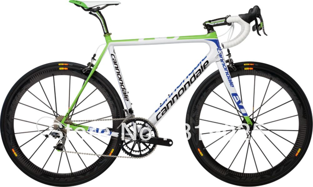 Factory Price Cannondale Supersix Evo Carbon Road Bike Green