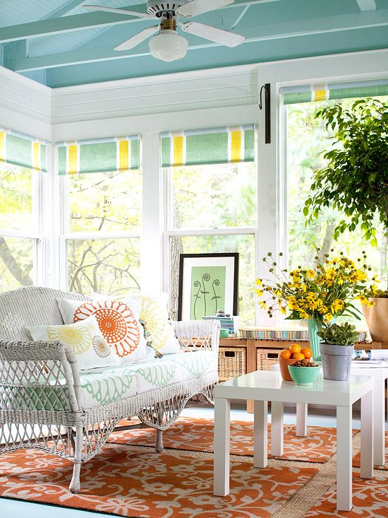 Inspirational Sunroom Colors Scheme