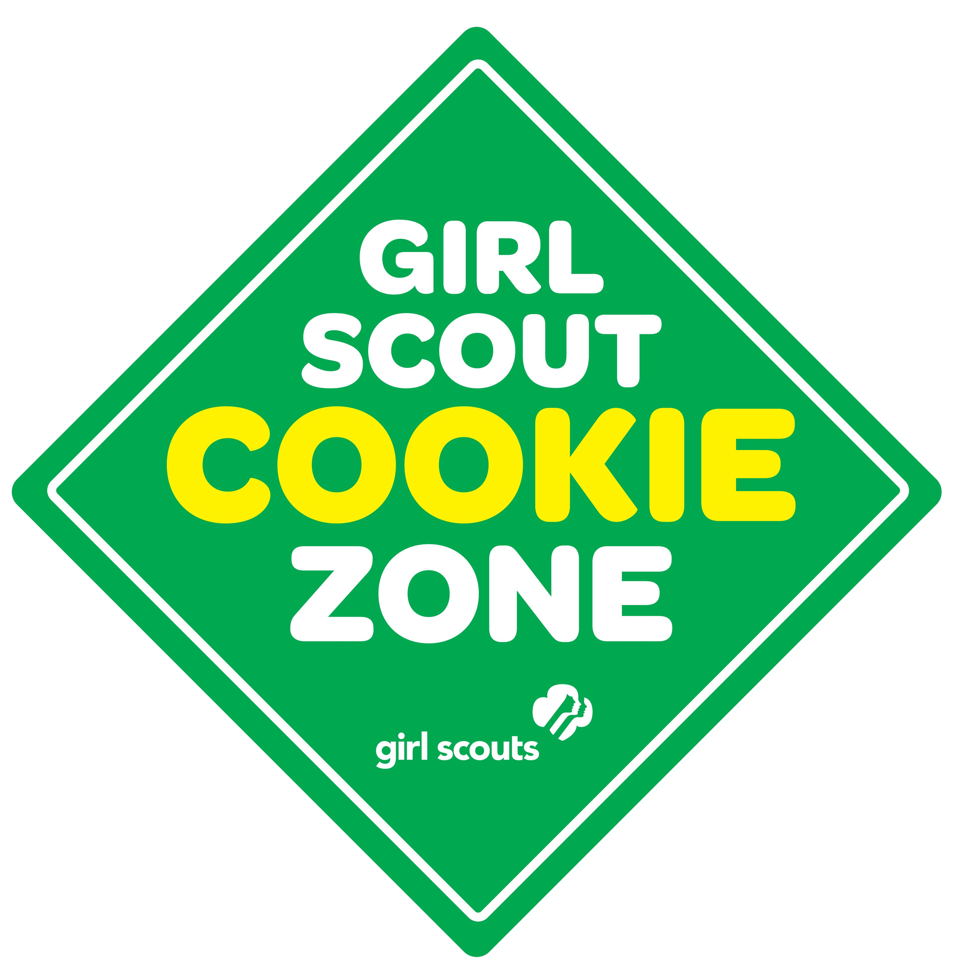 cookie sellers   girl scouts san diego daisy info