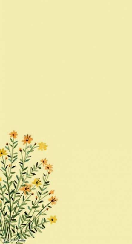 Flowers yellow wallpaper backgrounds 44 Ideas for 2019