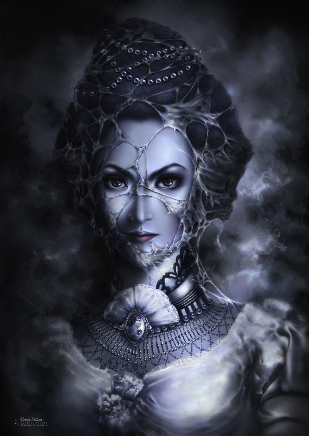 Detail -gothic Allure 2d Fantasy