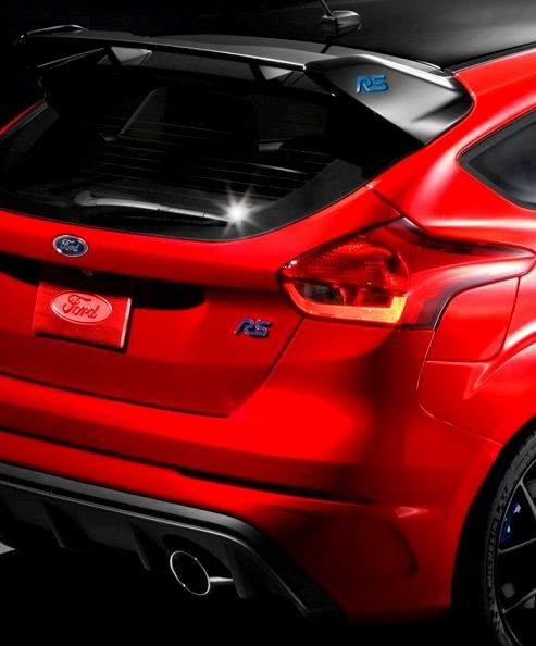 2018 Ford Focus Rs Limited Edition Option For North America