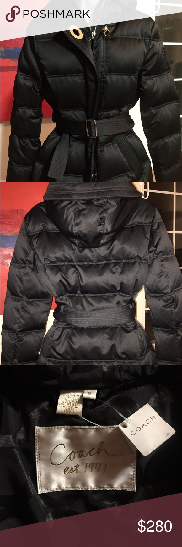 Coach 1941 Sold Collection Nwt Nofur Puffer Coach 1941 Jackets Coach Jacket [ 1740 x 580 Pixel ]