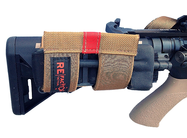 RE Factor Tactical // Buttstock Tourniquet Holder - Airsoft & Military News Blog by Airsoft Community Europe