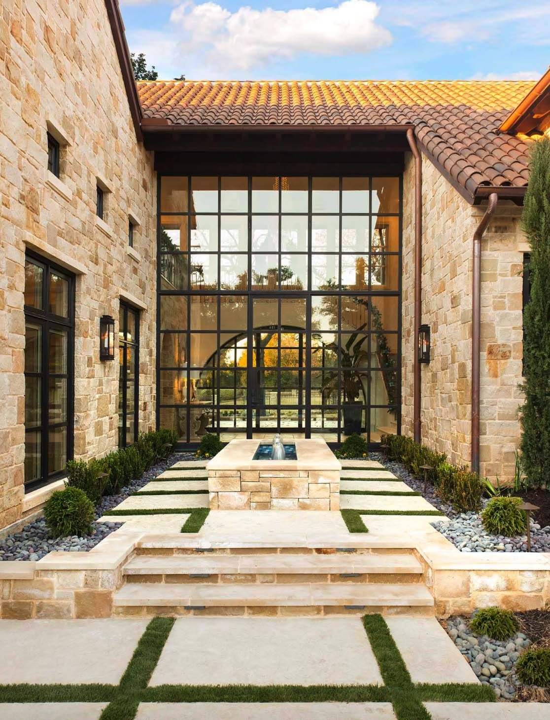 Breathtaking Tuscan style home offers a timeless appeal in Texas