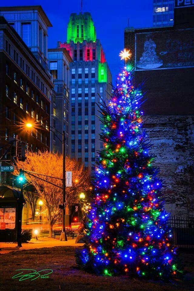 Christmas in Winston Salem.   Winston-Salem NC   Pinterest   Winston ...