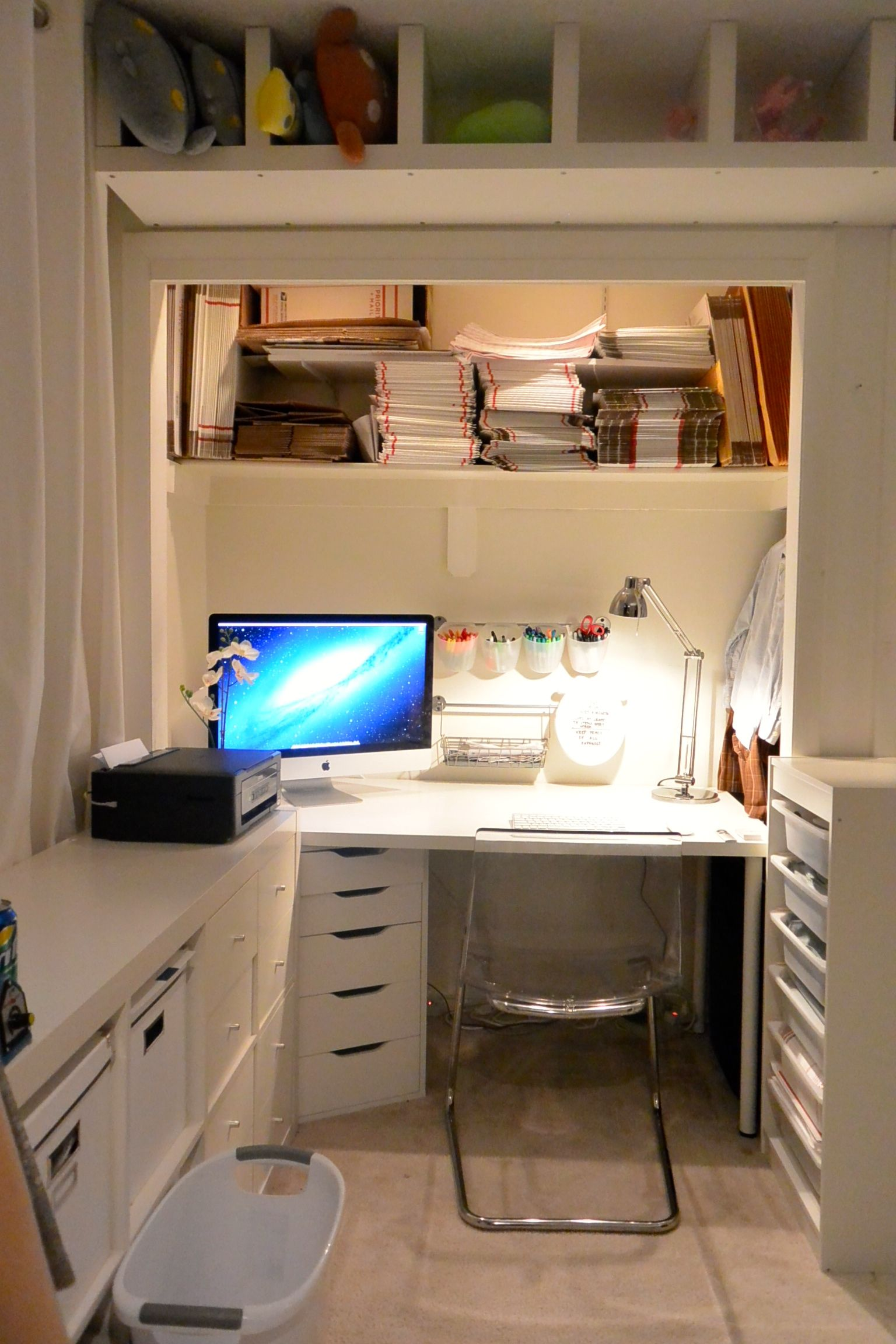 My ebay home office room - Small office setup ideas ...
