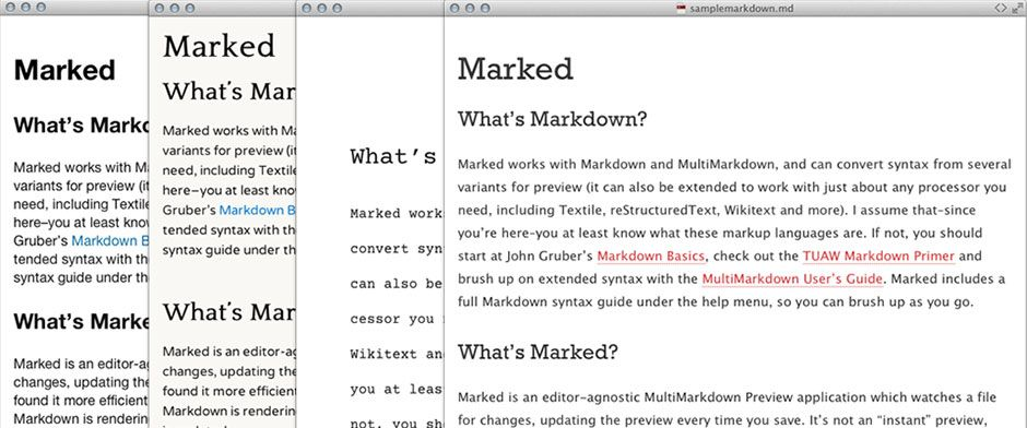 Marked 2 takes markdown text and formats it for Word