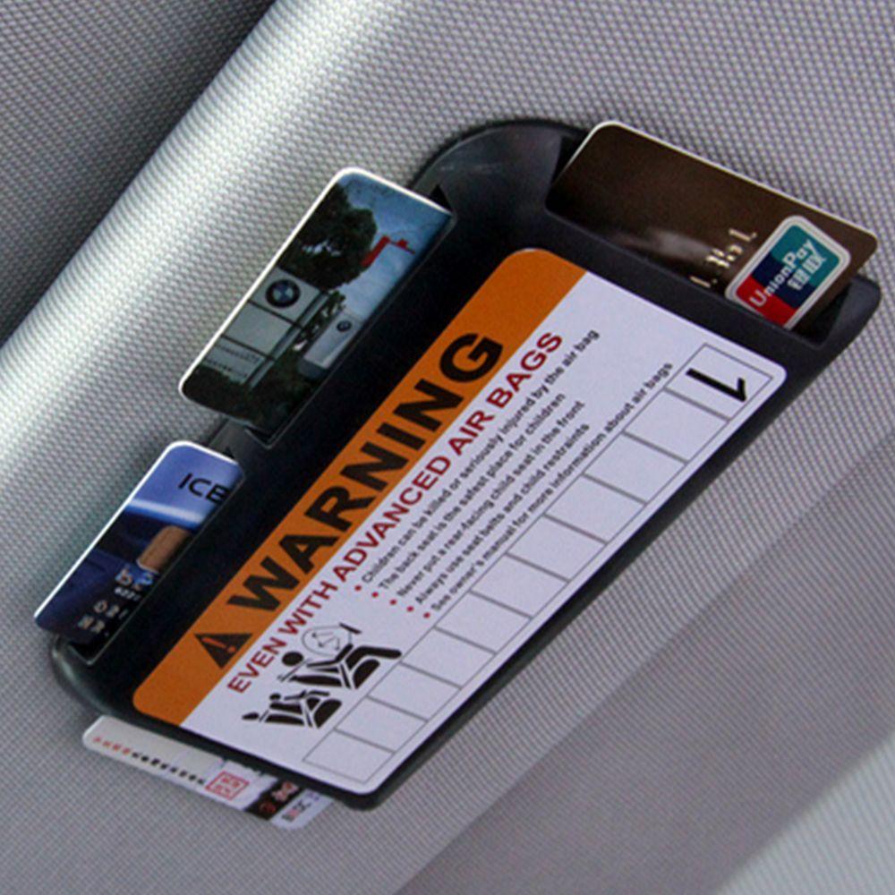 임시 주차 전화 번호 자동차 바이저 클립 주최자 범용 고속 IC 카드 클립 자동차 주차 카드 홀더