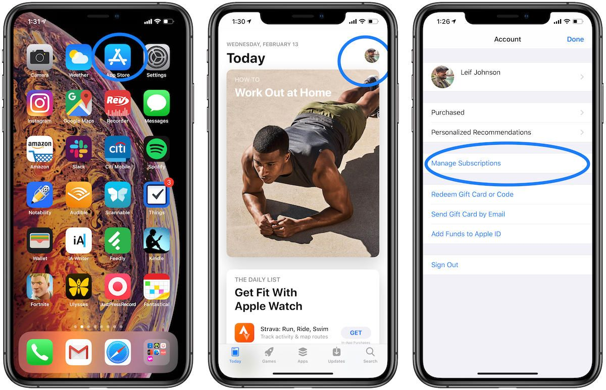 How to cancel an app subscription on iPhone or iPad
