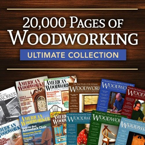 20,000 Pages of Woodworking Ultimate Collection | ShopWoodworking