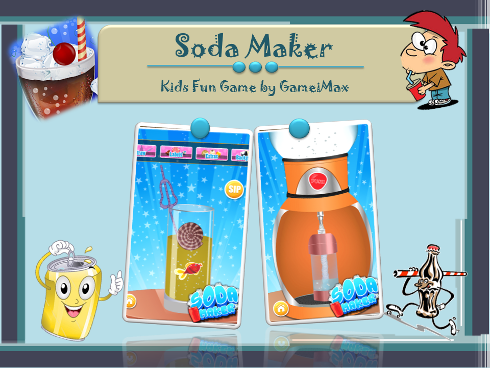 Download Amazing Kids Game Soda Maker for FREE...Get it