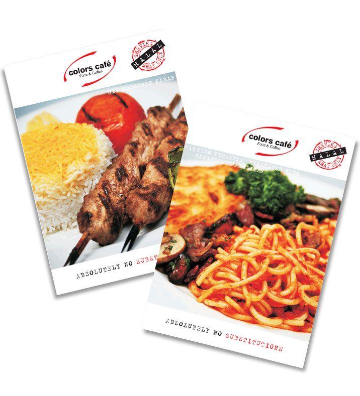 menu card designs for restaurants