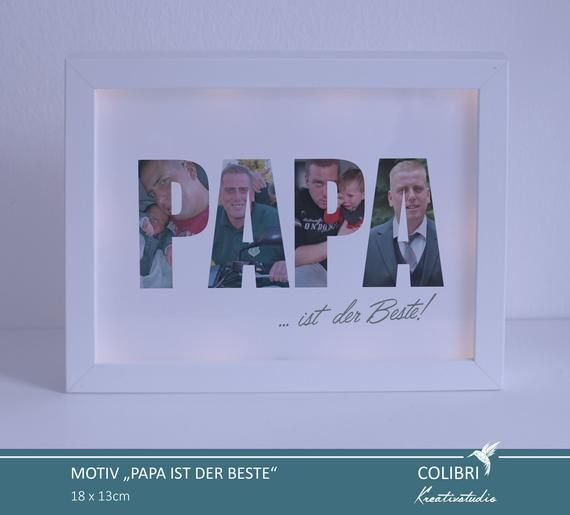 Father's Day gift, birth gift, birthday gift for men, gift for dad, custom gift, picture frame M PAPA