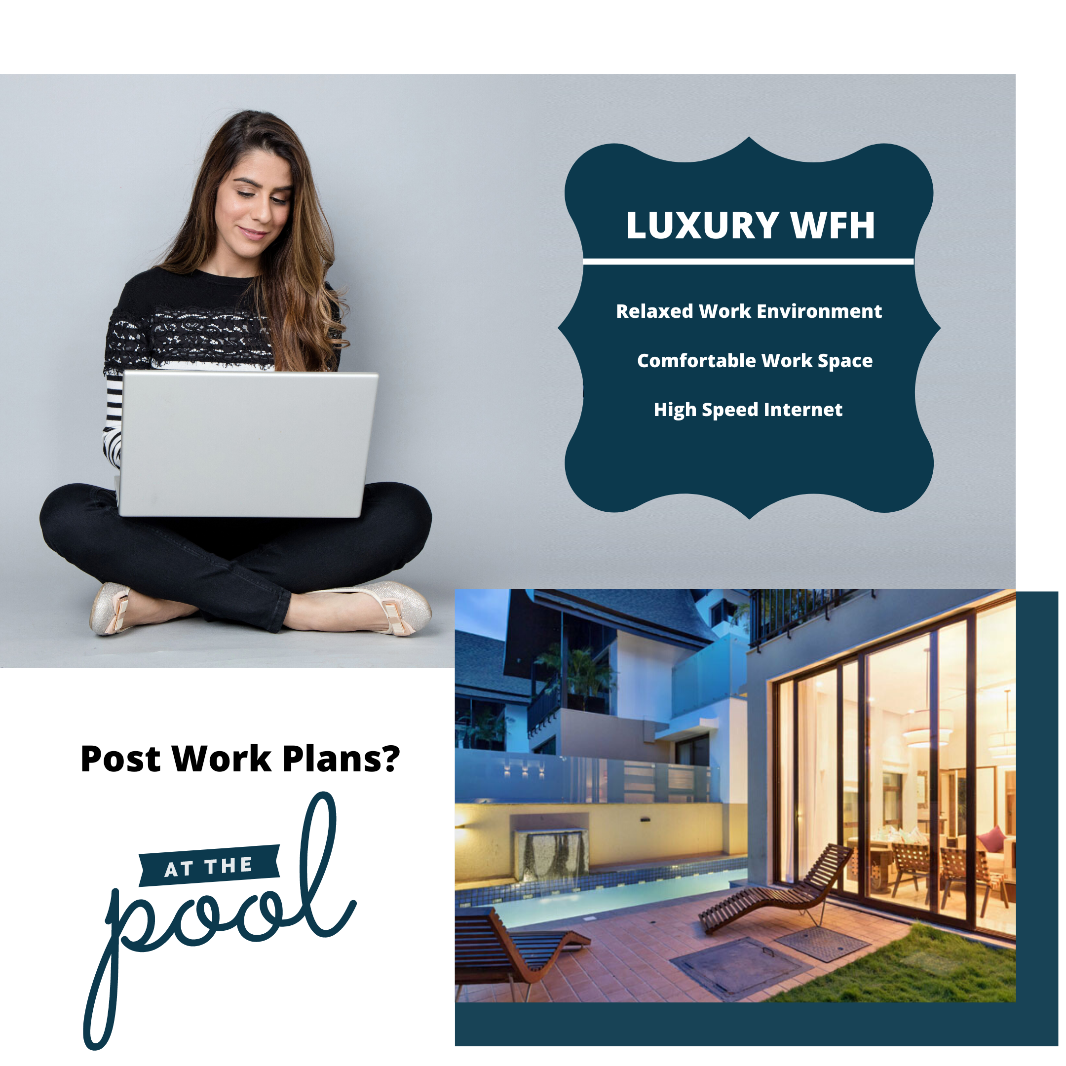 Work From Home can sometimes take a toll on you, but when you are working in a Luxury Villa, Work from Home doesn't feel so difficult after all.  Book Luxury Private Pool Villa.  Contact :- 8380810000  #VillaGoa #villasingoa #rentvilla #LuxuryVillasinGoa #luxuryhomes #micasasucasa #PrivatePoolVillas #Goa #Travel #TravelGoals #Traveller #traveltogoa #Travelwithfriends #travelwithfamily #exploregoa #pool #instatravel