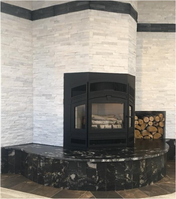 Rsf Delta Fusion Fireplace Wood Burning Fireplace Bay Window