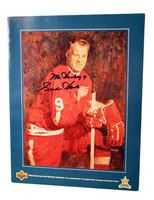 aeros.com: Autographed Gordie Howe 65th Birthday program