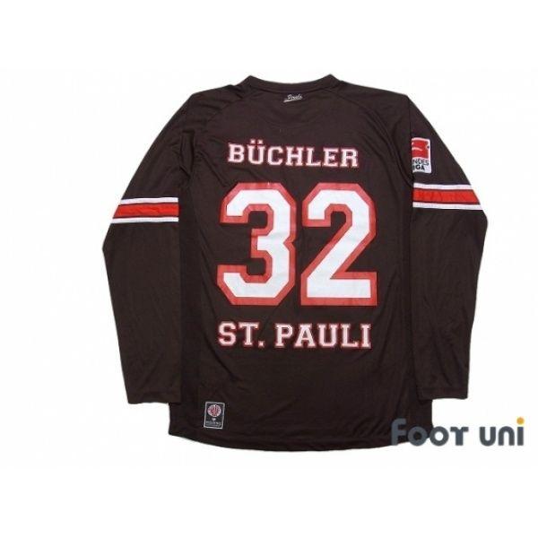 2aedea97485 FC St. Pauli 2012-2013 Home Long Sleeve Shirt  32 Buchler Bundesliga  Patch Badge  fcstpauli  fcstpauli2012  fcstpauli2013  fcstpaulishirt   fcstpaulijersey ...