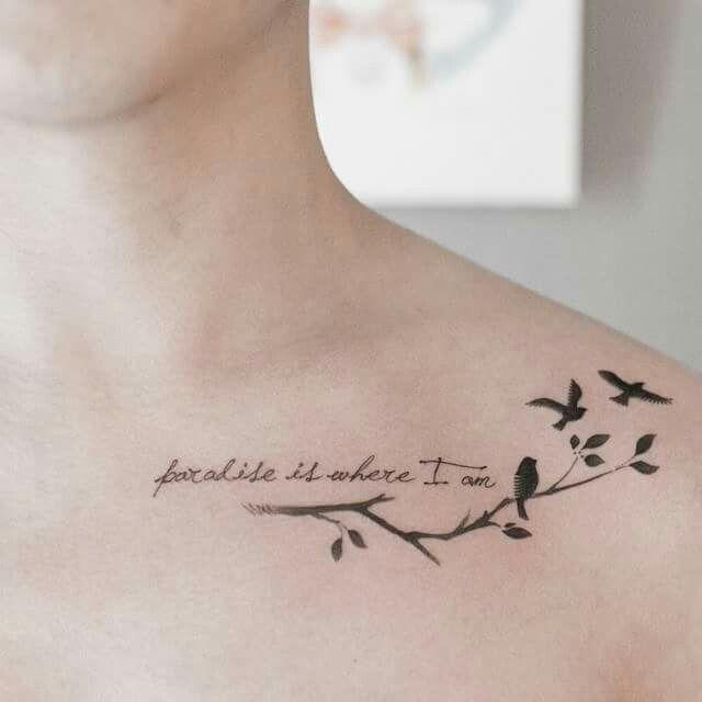 Tattoo Cursive Black Rip Birds Quote For Every: Pin De Betzabe Lopez En Tatto