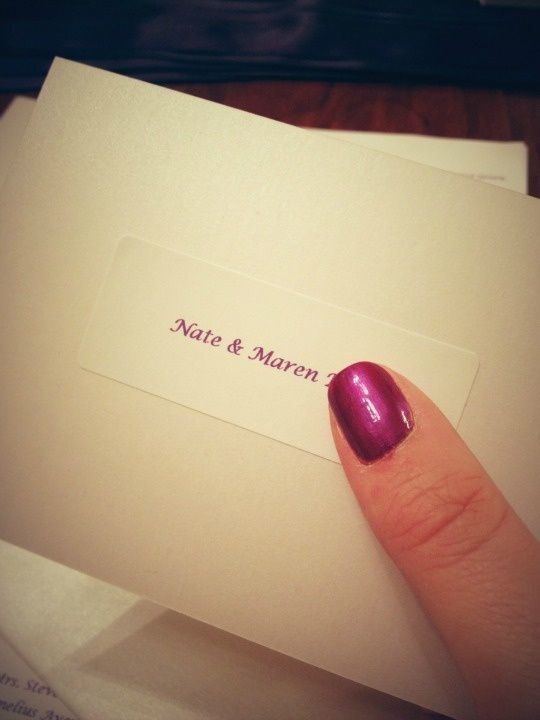 Wedding rsvp card tip put the name of guest you are sending it to wedding rsvp card tip put the name of guest you are sending it to on the stopboris Choice Image
