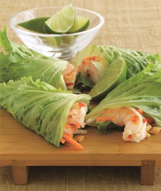 Low Carb Low Calorie Shrimp Summer Rolls Healthy Seafood