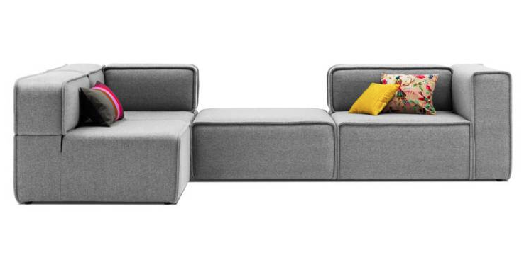 The Carmo Sofa Really Cool Modular Seating System For A Minimalist