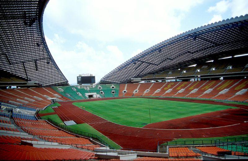 Soccer Shah Alam Stadium Malaysia