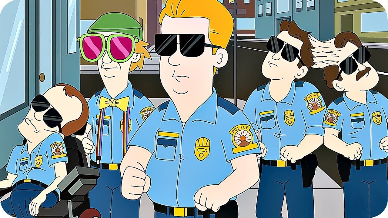 PARADISE PD Trailer Season 1 (2018) Netflix Animation