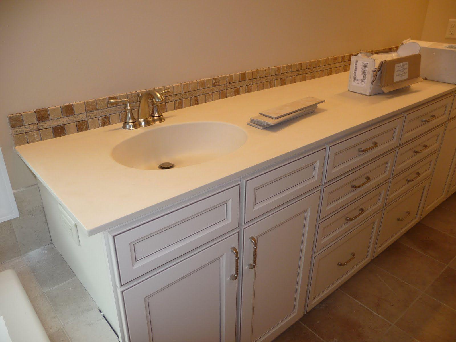 Image Result For Single Row Tile Backsplash Bathroomcountertops