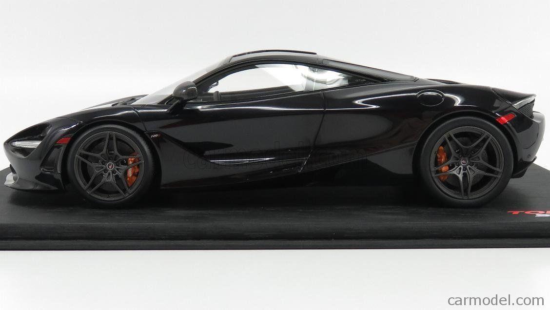 Truescale Ts0141 Scale 1 18 Mclaren 720s 2017 Amethyst Black Diecast Model Cars Mclaren Car Model