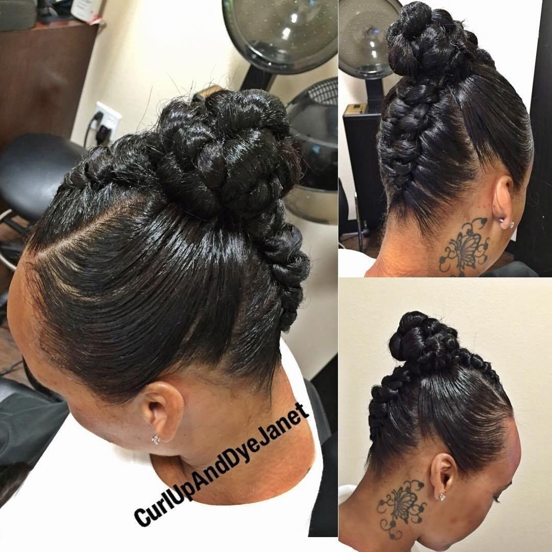 Mohawk bun black hair is cultural beautiful naturally curlly