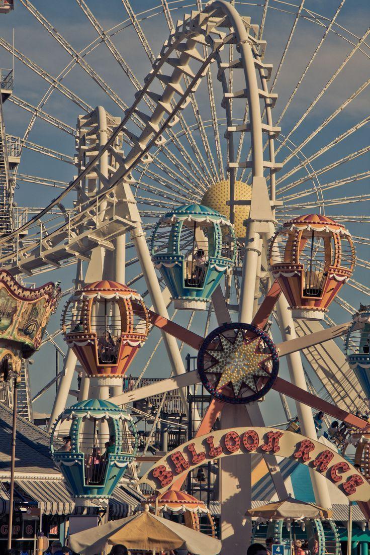 Wild Wood NJ Morey's Piers Vergnügungspark. #amusement # morey39s # nj39s #park #piers #amusement #morey #morey39s #nj39s #piers #vergnugungspark #aesthetic vintage retro yellow