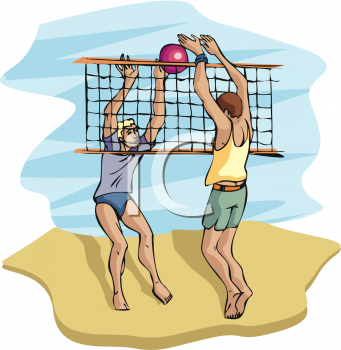 the clip art guide blog 2 collections of cool beach volleyball rh pinterest ca beach volleyball clipart png Beach Clip Art