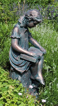 1000+ ideas about Garden Statues on Pinterest | Fairy Statues ...