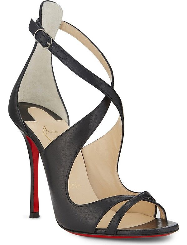 cheap for discount a0210 19f29 CHRISTIAN LOUBOUTIN Malefissima 100 nappa shiny   Finders ...