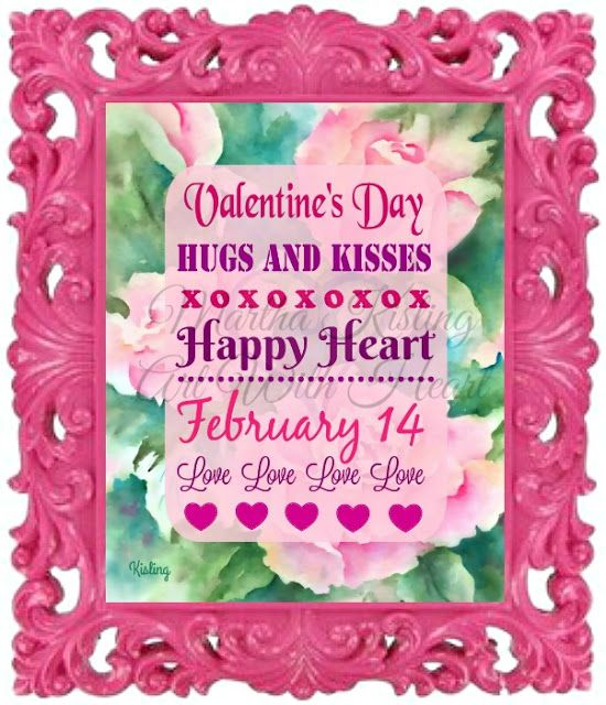Martha Kisling Art With Heart : Countdown to Valentine's Day - Cute Frames