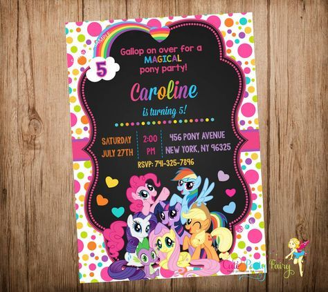 My little pony invitations google search nil 3 ya pinterest my little pony birthday invitation my little pony party invitation my little pony chalkboard invitation do it yourself digital file solutioingenieria Choice Image