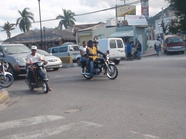 A motorcycle taxi is the most common and cheapest form of ...