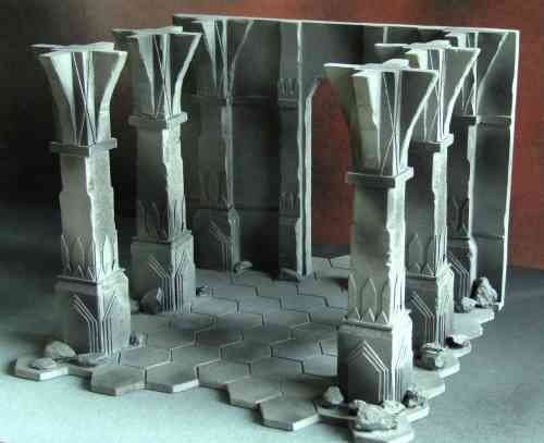 Image result for mines of moria miniature display