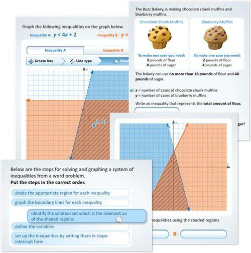 New Buzzmath Activity Solving Systems Of Linear Inequalities Linear Inequalities Algebra Interactive Notebooks Teaching Algebra