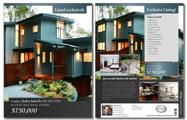 Real Estate Brochures  I  Being A Realtor