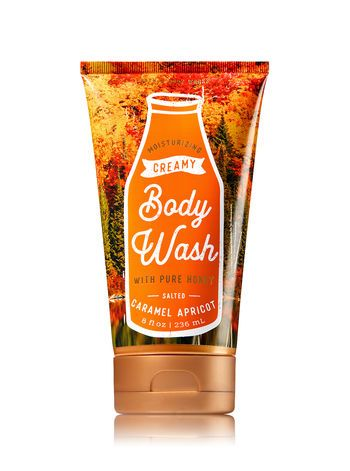 Signature Collection Salted Caramel Apricot Creamy Body Wash Bath And Body Works Body Wash Bath And Body Works Body Care