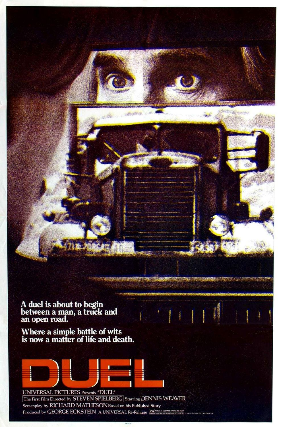 Duel (1971) The ultimate road rage film, get's better as