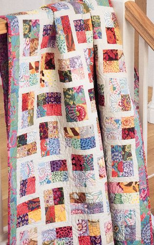 Sparkling Gemstones, Jelly Roll Quilts the quilt room via Flickr