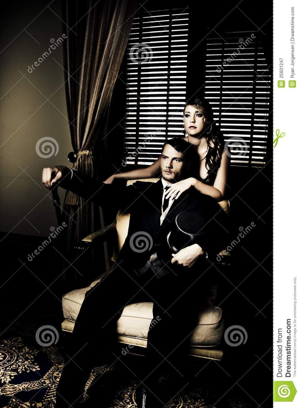 Filthy Rich Man And Woman Royalty Free Stock Photography - Image ...