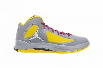 Nike Jordan Aero Flight Mens 524959-086 Grey Yellow ...