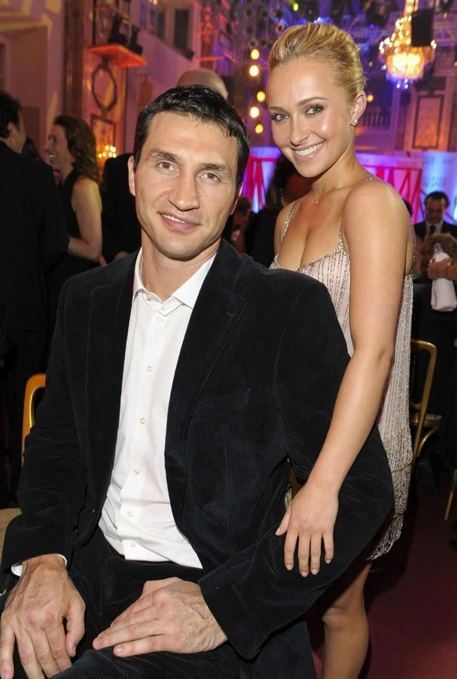 Superb Image Detail For Hayden Panettiere With Wladimir Klitschko Hairstyles For Men Maxibearus